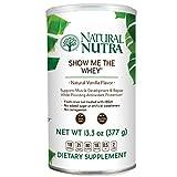 Cheap Natural Nutra Grass Fed Vanilla Whey Protein Isolate Powder, Best Tasting Amazing Flavor, Free Range, Gluten Free, Sugar Free, Non GMO, Show Me The Whey Protein Powder, 13.3oz