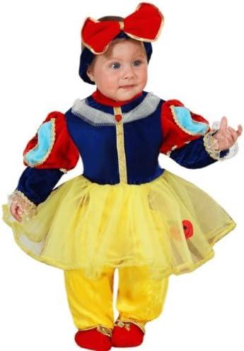 Disfraz de carnaval de Blancanieves para bebé. 62 cm: Amazon.es: Bebé