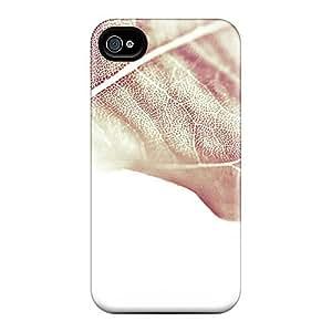6Plus Perfect Tpu Case For Iphone 4/4s/ Anti-scratch Protector Case (leaf 1)