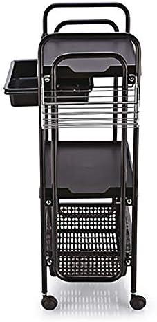 工具入れカート 美容ツールカート美容カート美容カートマニキュアツールカートペイントクラフト 工具カート キャビネット (色 : Black, Size : 50x30x88cm)