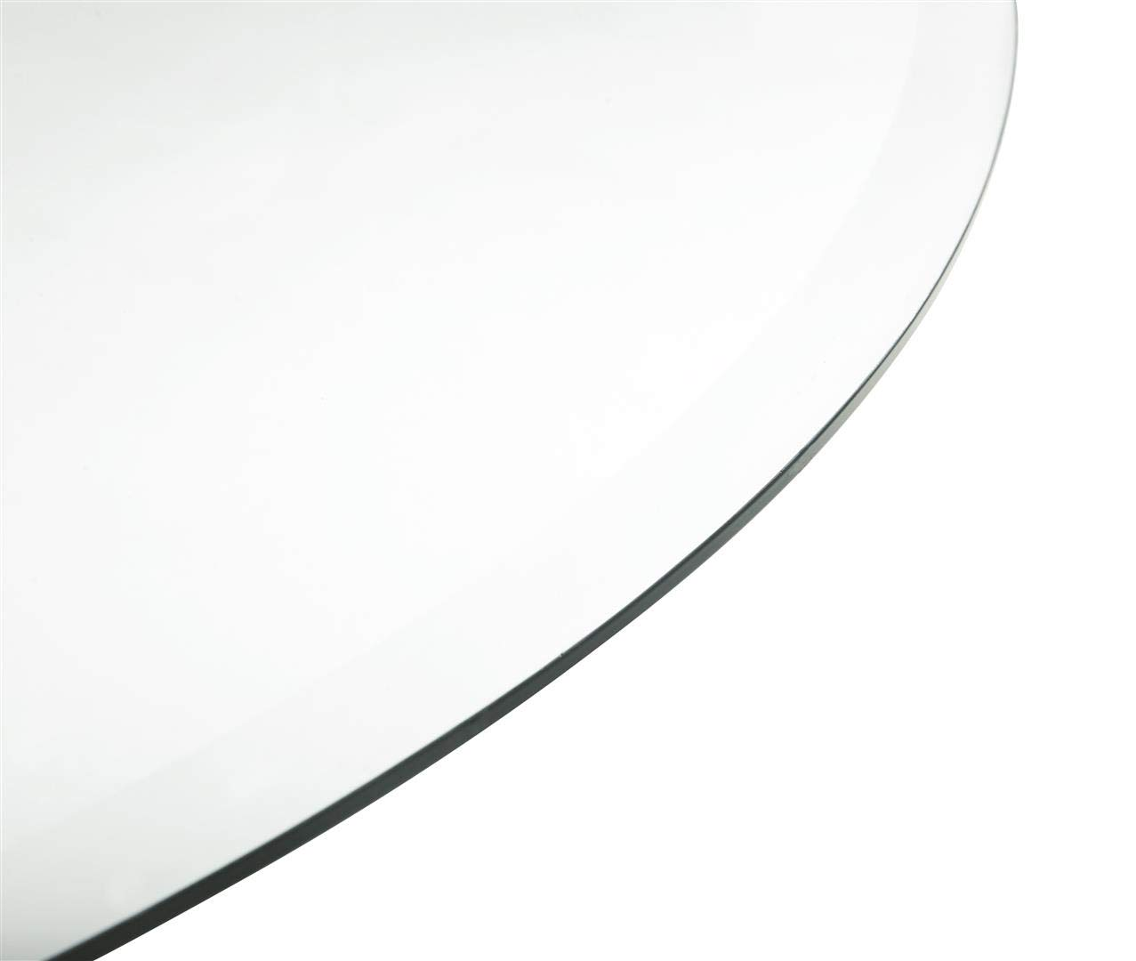 Coaster Home Furnishings Round Glass Top with 1'' Bevel Clear Tempered by Coaster Home Furnishings (Image #2)