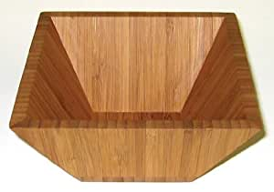 Lipper International 6Square Bowl, Bamboo, Garden, Lawn, Maintenance