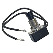 Gardner Bender GSW-21 Push Switch On-Off (SPST) 10A 125V