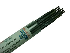 "Weldcote Nickel 99 Cast Iron Welding Electrode Repair 1/8"" 1 Lb. from Weldcote Metals"