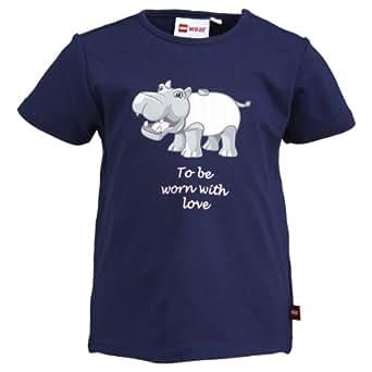 LEGO Wear Duplo, Camiseta para Bebés, Azul (Midnight Blue) 588 12 Meses (80 cm)