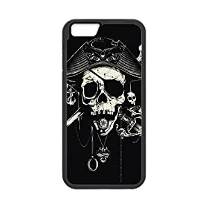 Skull iPhone 6 Plus Case Black Yearinspace997972