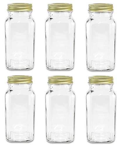 Large Square Bottles Shaker SpiceLuxe