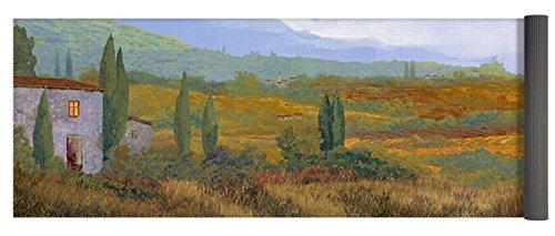 Pixels Yoga Mat w/ Bag ''un altro pomeriggio in Toscana'' by Pixels