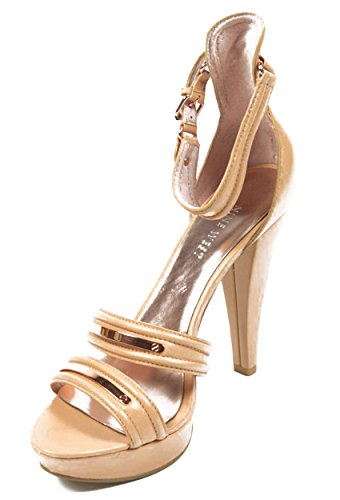 NINE WEST - Damen Knöchelriemen Sandale NWBRYANT MEDIUM PNK Hacke: 12 cm