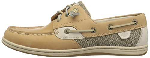 Sperry Top-Sider Women's Songfish Boat Shoe, Linen/Oat, 7.5 Wide US by Sperry Top-Sider (Image #5)