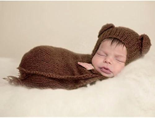 Fotografía de bebé recién nacido Puntales Niño Niña ganchillo ...