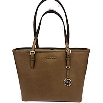 089d7ae1b40a MICHAEL Michael Kors Jet Set Travel Medium Carryall Tote Saffiano Leather -  Luggage