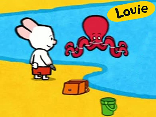 (Louie, draw me an octopus)