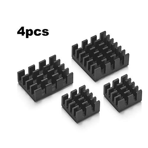 Vilros Raspberry Pi 4 with USB-C & Micro HDMI Adapters Quickstart Guide E-Book (4GB)