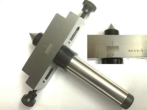 Taper Metal Turning Attachment in 2MT Shank for Off-setting Lathe/'s Tailstock