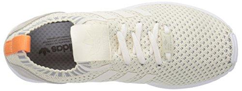 White Chalk Granite Originals adidas White ZX Fashion Chalk W PK Sneaker Women's Flux Awz7vwBqC