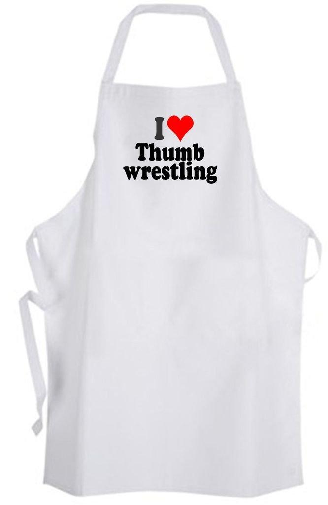 I Love Thumb Wrestling – Adult Size Apron