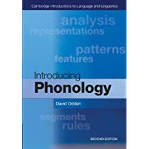 Introducing Phonology (Cambridge Introductions to Language and Linguistics)