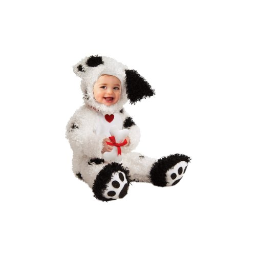 [Rubie's Costume Co Dalmatian Costume, 6-12 Months] (Tv Themed Fancy Dress Costumes)