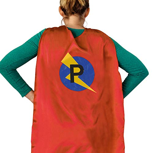 LYNDA SUTTON Adult Superhero Cape Blue, Superhero Cape for Women, Adult Superhero Clothing, Red Cape with Mask for Birthday Party Gifts - Cape P -