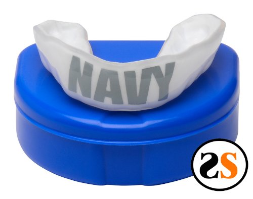Custom Professional USA NAVY Mouth Guard MMA by SportingSmiles