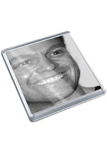 JASON DONOVAN - Original Art Coaster #js001