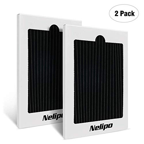 Nelipo Replacement Frigidaire Pure Air Ultra Refrigerator Air Filters, 2-Pack