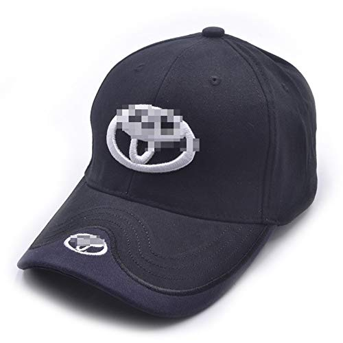 Auto sport Car Logo Black Baseball Cap F1 Racing Hat fit to-yota Accessory