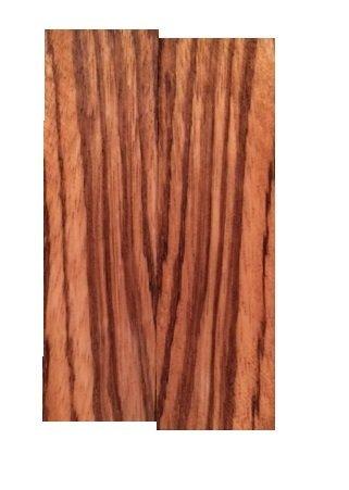 Zebrawood Knife Scales - 3/8