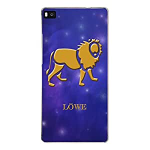 "Disagu Design Protective Case para Huawei P8 Funda Cover ""Löwe"""