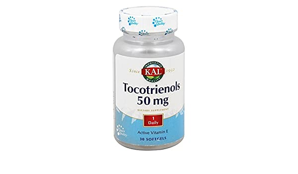 Amazon.com: Kal Tocotrienols -- 50 mg - 30 Softgels: Health & Personal Care