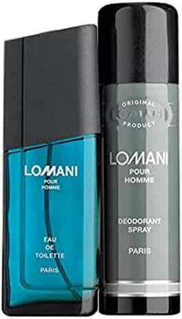Lomani 2 Piece Gift Set for Men