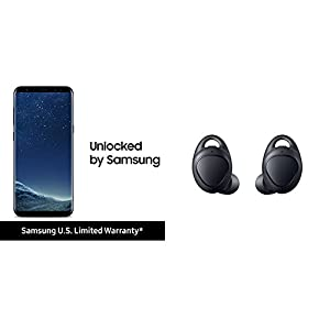 "Samsung Galaxy 64GB Unlocked Phone - 6.2"" Screen - US Version (Midnight Black)"