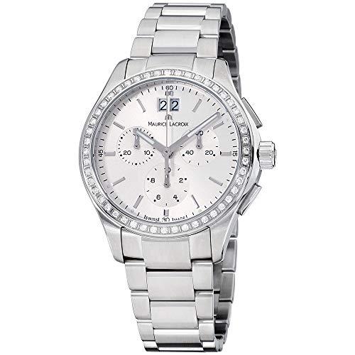 Maurice Lacroix Women's MI1057-SD502-130 Miros Stainless Steel Watch 130 Maurice Lacroix Watches