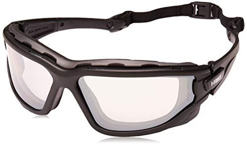 Pyramex I-Force Sporty Dual Pane Anti-Fog Goggle, Indoor/Outdoor Mirror Anti-Fog Lens