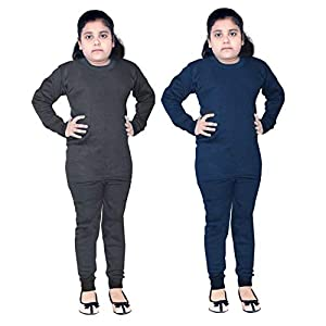 FAIQA Thermal Wear Top Pajama for Boys Girls Kids Baby (Pack of 2)