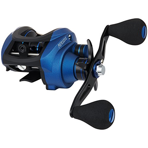 Piscifun Perseus Low Profile Baitcasting Reel – Dual Brakes, 18.5LB Carbon Fiber Drag Baitcasting Fishing Reels, Incredible Smooth Baitcaster Reel