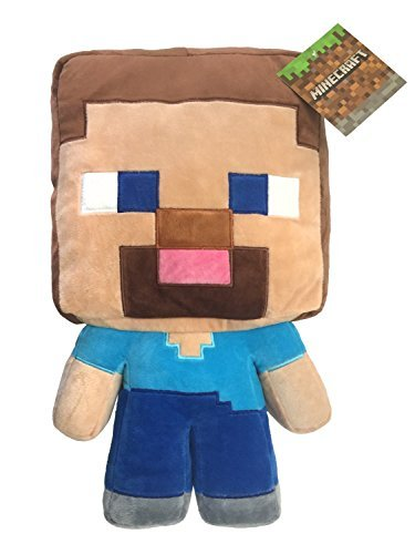 Mojang MineCraft Steve Plush 16'' Pillow Buddy