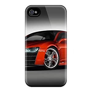 Hot SKa1762OUGK Case Cover Protector For Iphone 4/4s- Audi R8
