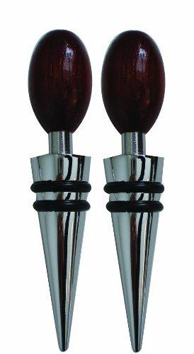 Buy global decor wood bottle stoppers