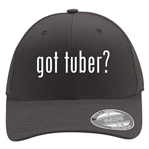 got Tuber? - Men's Flexfit Baseball Cap Hat, Dark Grey, Large/X-Large