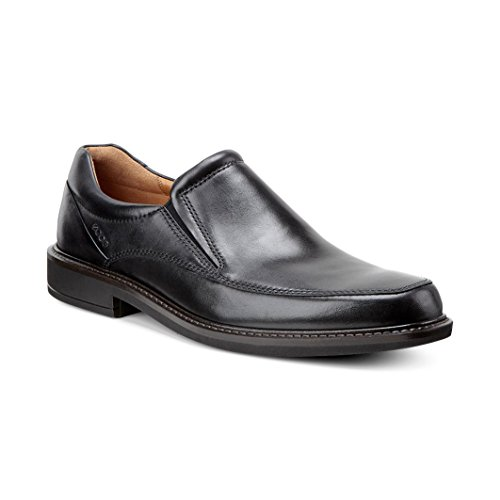 Ecco ECCO HOLTON - Zapatillas de casa de cuero hombre Black
