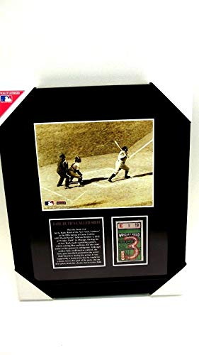 Used, Mounted Memories Babe Ruth Called Shot Photo Repligraph for sale  Delivered anywhere in USA
