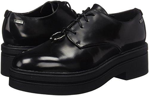 Para Negro Zapatos Mujer Mtng De Negro Oxford botori Cordones Gaia q6xw40X