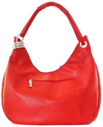 main collection Rouge sac épaule main CUIR DESTOCK dakota modèle grainé porté nouvelle cuir à et 2018 pOZ4t4qx