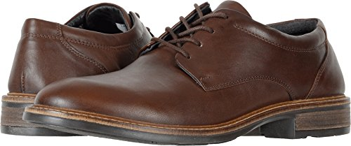 Naot Mens Wisdom Flat Toffee Brown Leather