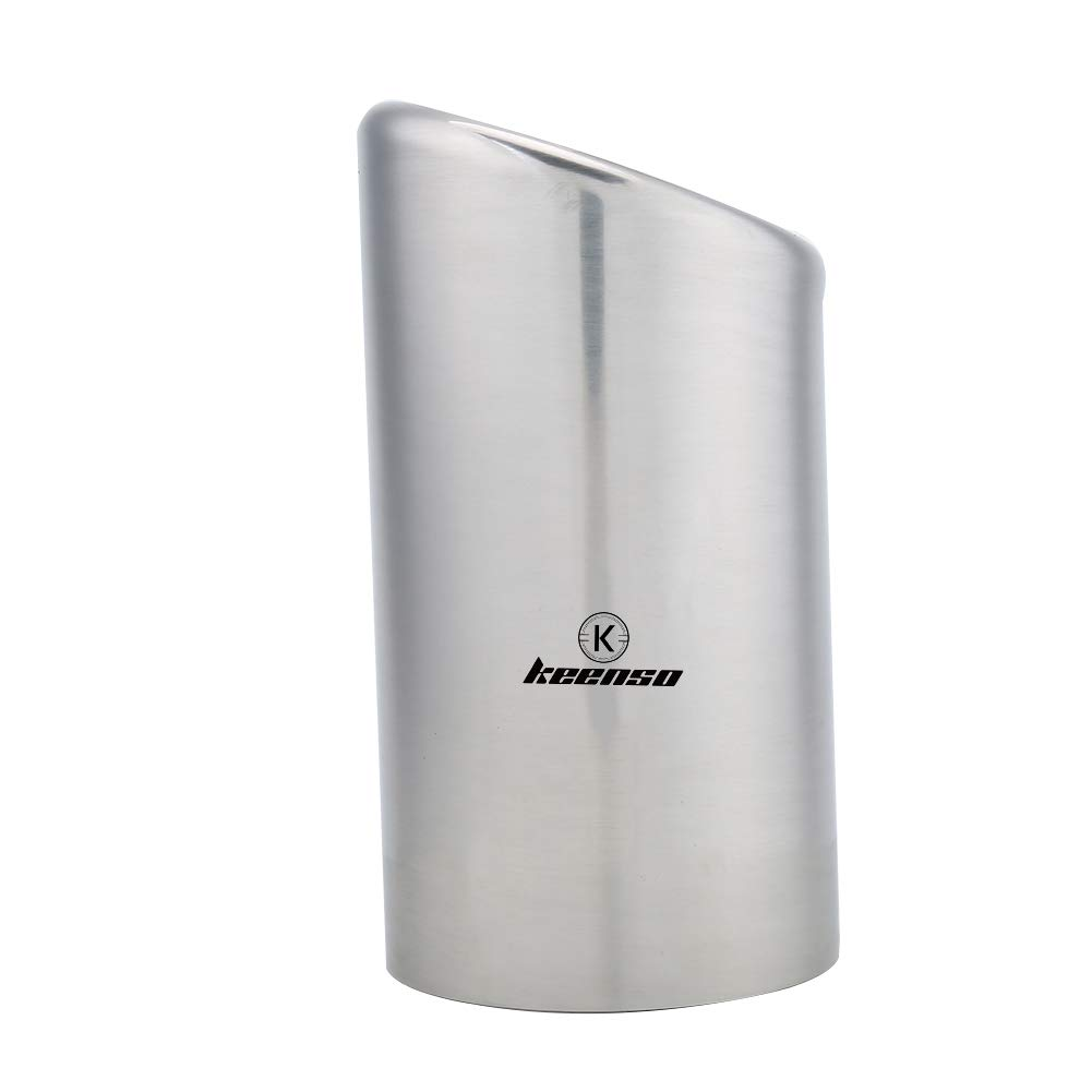1 Pair Car Exhaust Tail Pipes Muffler Tips Stainless Steel Universal Car Muffler Exhaust Tail Tip