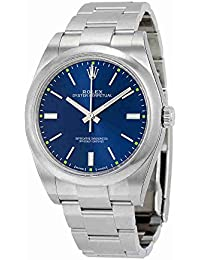 Oyster Perpetual Blue Dial Stainless Steel Automatic Mens Watch 114300BLSO