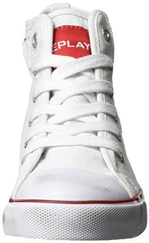 Replay Jungen Garnett High-Top Weiß (White 61)