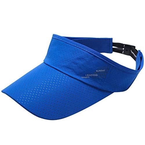 Outdoor Cap Retractable Sun Hat Visor Empty Top Hats Wide Br
